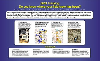 GPS used for expeditions.