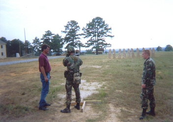 Testing with the Army Rangers at Ft. Benning.