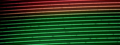A high resolution spectrum of the sun.